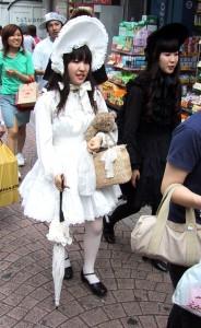 Estilo lolita en Takeshita-dōri, Harajuku, Tokio.