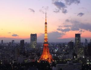 Cae la noche sobre Tokio