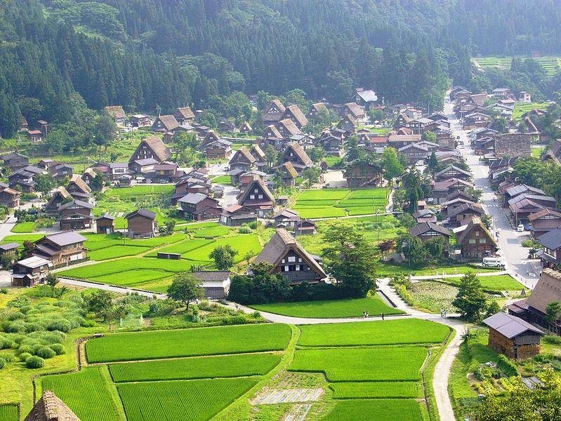 Aldeas típicas de Shirakawa-go y Gokayama