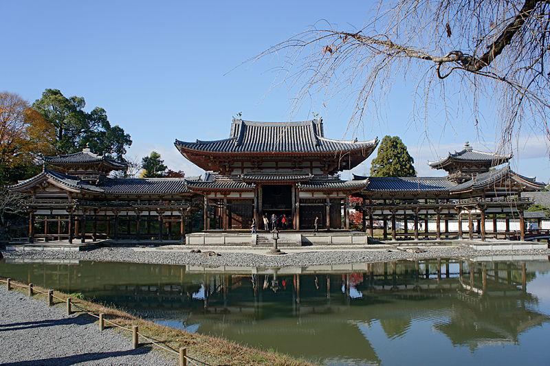 Templo Byodo-in en Uji, Kioto