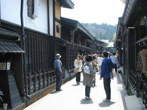 Calle pincipal de Takayama