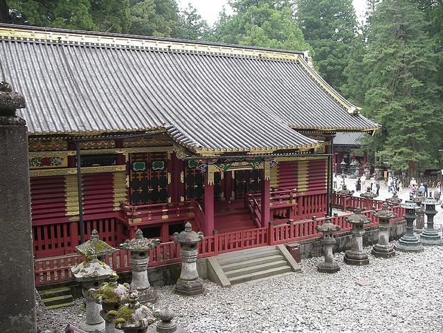 Foto exterior del Santuario de Toshogu