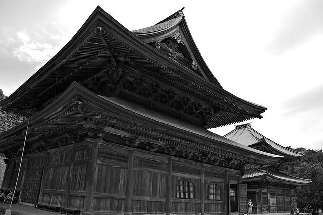 Imagen exterior del templo de Kencho-ji en Kamakura